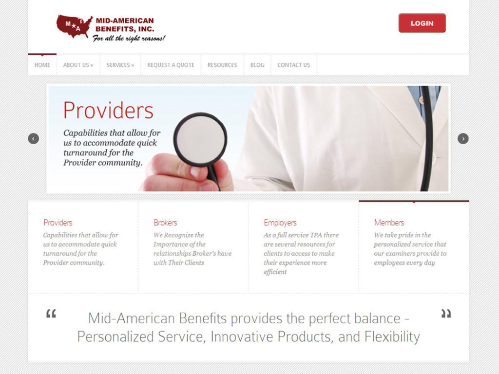 Mid-American Benefits Website