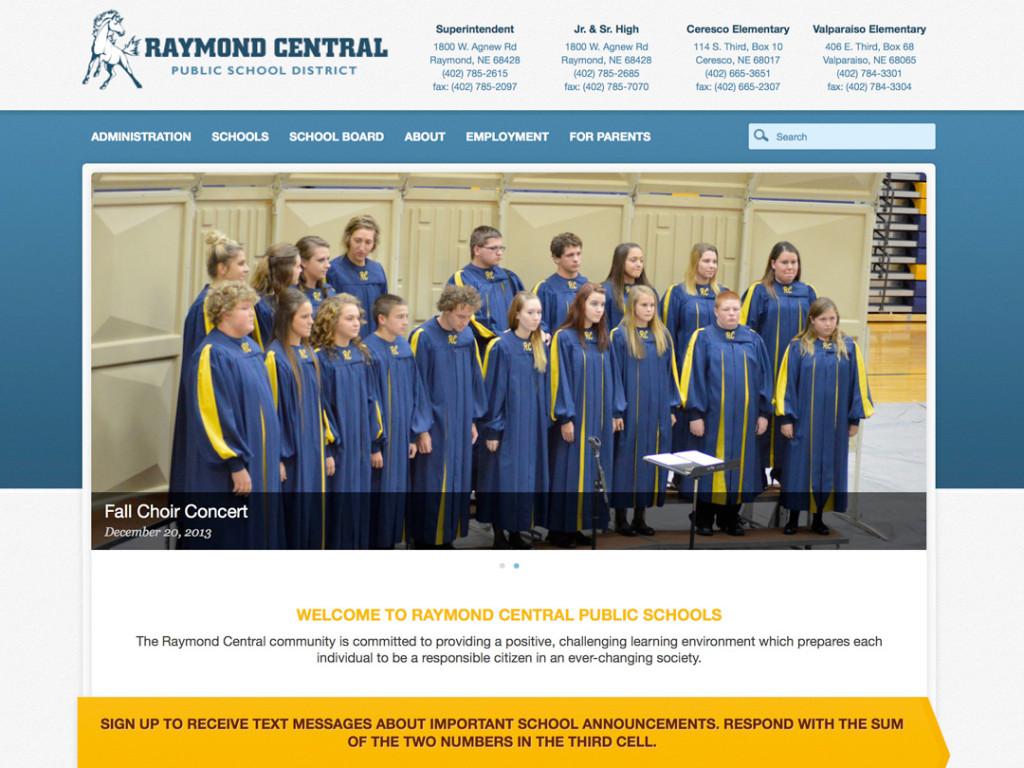 Raymond Central High School Website