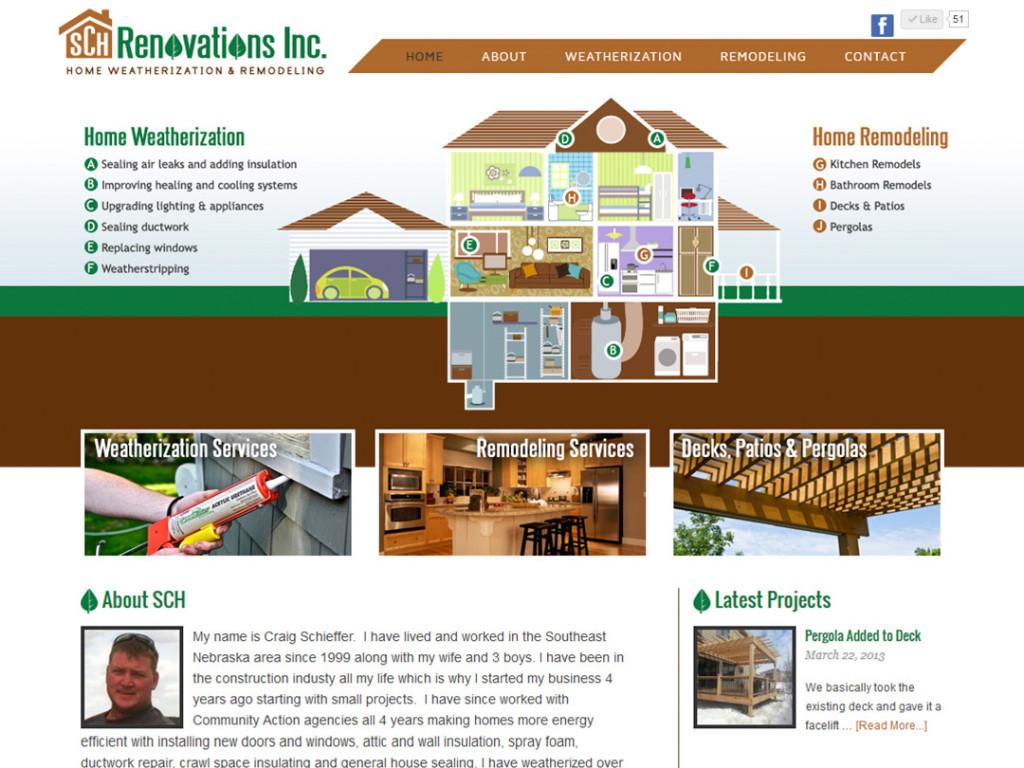 SCH Renovations Website
