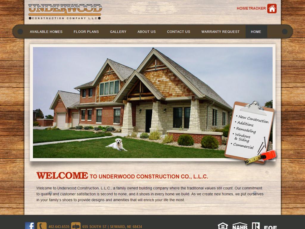 Underwood Construction Website