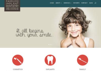 fidentistrywebsite-400x284  Longmont Website Design Image