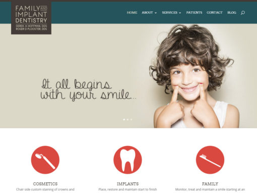 Family Implant Dentistry Website