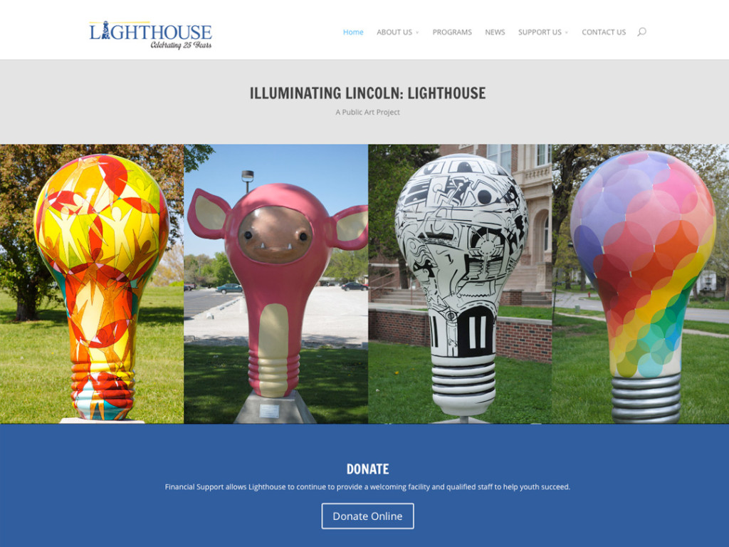Lincoln Lighthouse Website