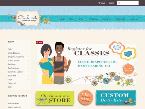 Circle Me Website