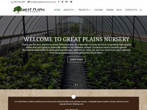 Great Plains Nursery Website