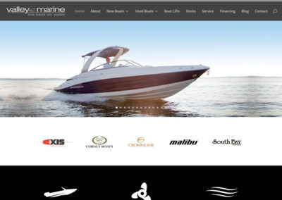 valleymarineweb-400x284  Longmont Website Design Image