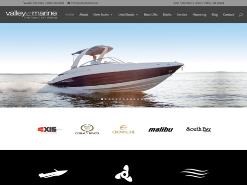 Valley Marine Website
