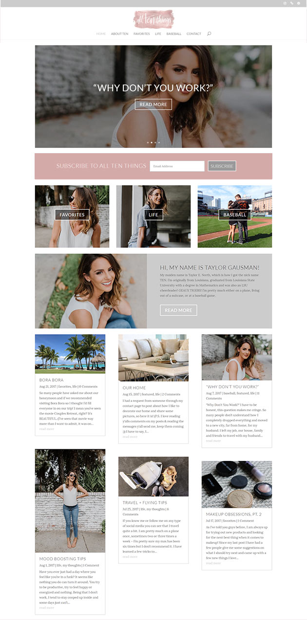 alltenthings  Longmont Website Design Image
