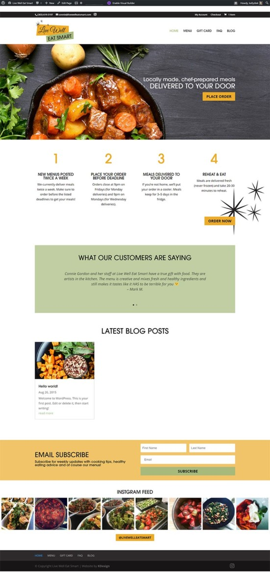 lwes  Longmont Website Design Image